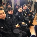 保障陸客安全  中國警察上義大利街頭巡邏