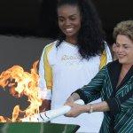 羅賽芙傳聖火 恐成巴西女總統最後一次公開活動
