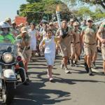 奧運聖火抵巴西 12歲敘利亞小難民擔任火炬手