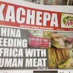 人肉罐頭銷非洲?中國怒斥尚比亞謠言 要求徹查消息來源