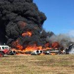 美軍B-52轟炸機墜毀關島空軍基地 所幸無人罹難