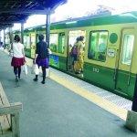 連結山與海的電車,江之電演最精采的路段在這裡!