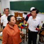 省電導致學生中暑?張花冠澄清永慶高中謠言