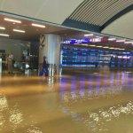 桃園機場淹成水鄉 林全不開心要究責