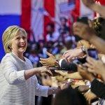 美國總統大選》正式跨越黨代表票門檻 希拉蕊宣布贏得民主黨提名