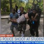 抗議總理貪腐 巴布亞紐幾內亞警方當街對學生開槍 一度誤傳4人死亡