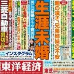 日本單身初老族最擔心什麼事....生病時沒人照顧自己