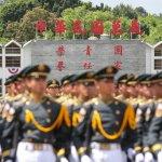 反年改惡搞陸軍官校照片「貪生怕死快入此門」,國防部「查無此校」將提告