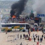 墨西哥教改釀成流血衝突》教師抗議封路燒車 警方強力清場至少6死114傷