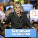 希拉蕊誓言拿下總統和國會多數 川普嘲諷:「世界級騙子」
