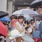 華航罷工遇雨暫疏散 晚間9點再回現場
