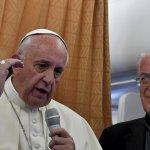 不應歧視同性戀!教宗方濟各:天主教會應尋求同性戀者的寬恕