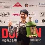 台灣咖啡師稱霸世界!台大電機碩士兼職賣咖啡,擊敗60國的實力這樣來