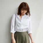 萬無一失的潔白,是白襯衫品味的根本!養成3個好習慣,簡單穿也很好看