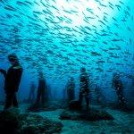 大自然才是最厲害的藝術家!歐洲第一座「海底博物館」,入內參觀請穿潛水裝