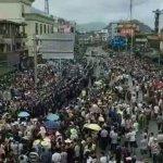 恐垃圾焚燒發電廠汙染水源 廣東萬人上街示威遭警方痛毆