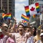 加拿大首位參加同志遊行的現任總理 杜魯道:身份證件擬承認第三性