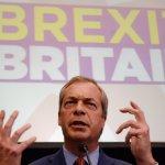 Brexit》脫歐派「落跑」政客再添一名 英國獨立黨黨魁法拉吉閃辭