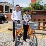 新竹市YouBike騎乘率破10萬人次 美食商家共襄盛舉