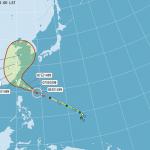 颱風尼伯特陸警發布 花蓮台東地區戒備