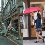 22年來最強颱,一個颱風兩個世界