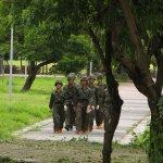尼伯特颱風侵襲 國軍協助高雄善後