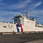 偉星艦順利返高雄港 巡防中曾和平驅離越南漁船