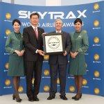 全球航空公司大獎 長榮第8名、華航第37名