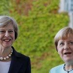 德英兩國鐵娘子首次會晤 英國脫歐成對談焦點