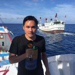登太平島宣示主權 載鳳凰衛視記者漁船不靠岸