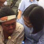 馬耀比吼臉書直播,蔡英文在凱道上當面與原住民對談