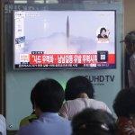 北韓飛彈首度落入日本專屬經濟海域 安倍政府:無法容忍、嚴正抗議!