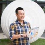 放下網球國手身分,他成為台灣新創團隊Pinkoi和iFit邁向世界的夢想推手!
