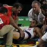 【慎入】里約奧運》小腿骨折法國體操選手:「2020東京奧運我會回來奪金!」