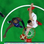 里約奧運》美國男籃華麗演出 首戰119比62大勝中國