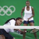 里約奧運》女雙金牌組合威廉絲姊妹爆冷出局 奧運15勝零敗紀錄戛然而止