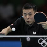 里約奧運》桌球男單 陳建安第3輪不敵奧運金牌得主張繼科