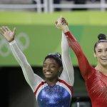 里約奧運》體操女子個人全能項目 美國一舉抱走金銀獎牌