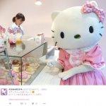 「Kitty的散步道」登陸東京原宿!平民價格、超夢幻可口的點心飲品,一次滿足Kitty迷的心