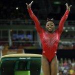 里約奧運》美國體操女王拜爾斯跳馬封后 本屆奧運第3金落袋