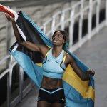 里約奧運》巴哈馬田徑女將「飛撲」摘金 上屆奧運冠軍5連霸夢碎