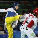 里約奧運》中國跆拳道2屆金牌得主8強賽落敗 我黃懷萱無緣復活戰