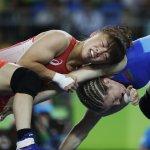 里約奧運》新生代「世界女王」登坂繪莉 首戰奧運奪角力48公斤級金牌