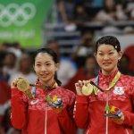 里約奧運》日本羽球女雙擊退丹麥 首度摘金寫歷史