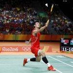 里約奧運》中國球王諶龍擊敗大馬球王李宗偉 勇奪羽球男單金牌