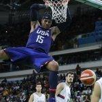 里約奧運》男籃決賽壓軸 美國夢幻隊擊敗塞爾維亞完成三連霸