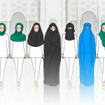 頭巾、面罩、布卡、布基尼?一次搞懂穆斯林女性服飾
