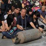 觀點投書:高雄人綁鐵鍊捆瓦斯抗議, 台北人只聽得到大埔!