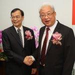台電副總鍾炳利接任總經理 董事長朱文成:就任需要勇氣