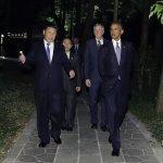 杭州歐習會》歐巴馬、習近平西湖漫步夜話